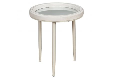 Robson Mirrored Accent Side Table