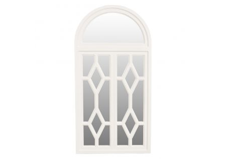 Eloise Fancy Mirror White