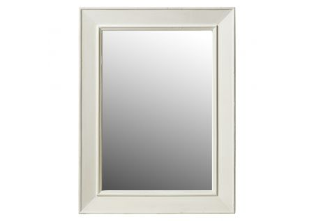 Kardinya Timber Wall Mirror White