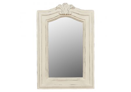 Grayson Mirror White
