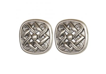 Metal Door Knob Silver - Set of 2