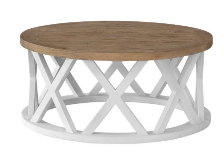 Byron Round Coffee Table