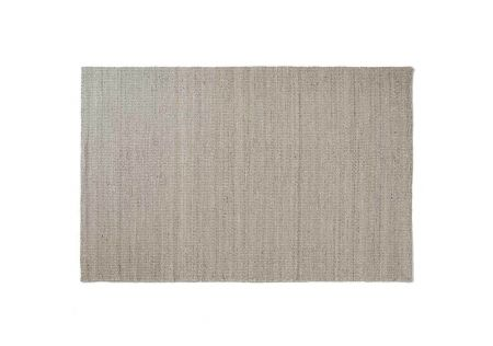 Jimara Handwoven Space Dyed Plain Rug Feather