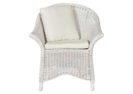 Bega Rattan Chair with Cushion