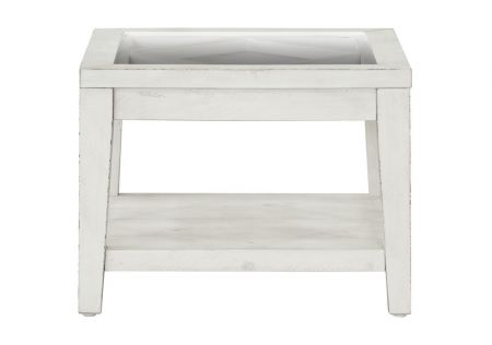 Shabby Chic Side Table Meringue