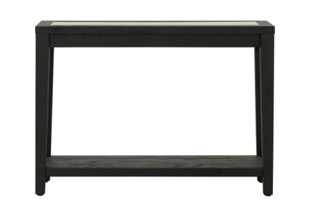 Shabby Chic Console Table Black