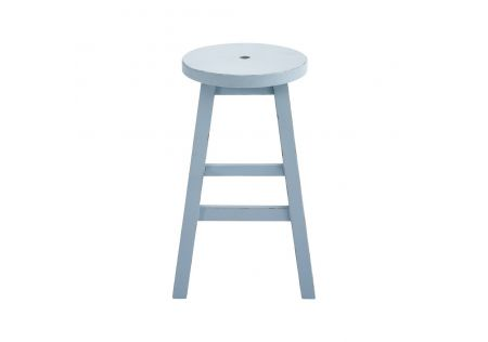 Ben Button Stool Duckegg Blue