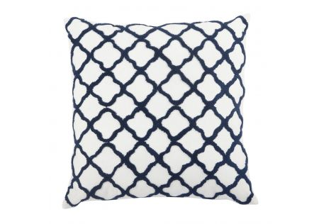 Moroccan Tile Feather Cushion