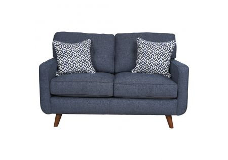Hollywood 2 Seater Sofa Denim