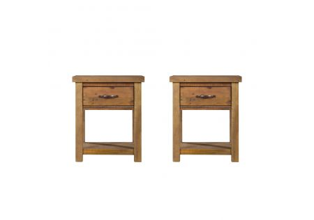Vintage Bedside Table - Set of 2