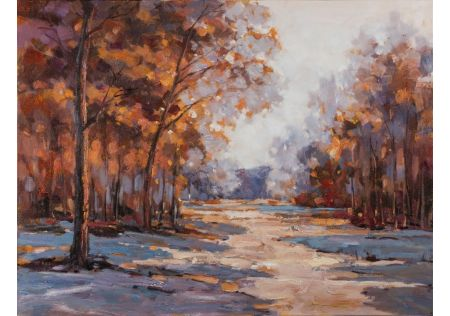 Perpetual Autumn Oil Painting