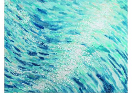 Make Waves Oil Painting