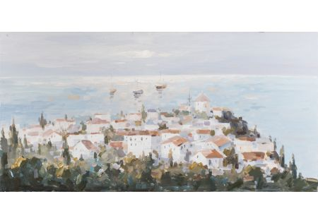 Mar Mediterraneo Oil Painting