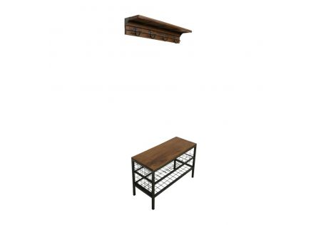 Macaw Frameless Hall Stand - ONLINE ONLY