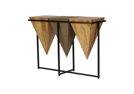 African Console Table - ONLINE ONLY