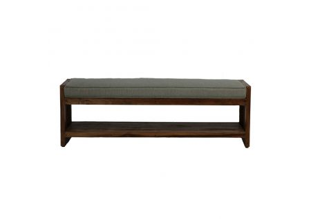 Hawaii Bed End Bench Rustic - ONLINE ONLY