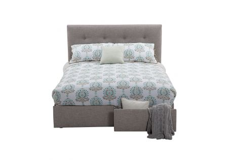 Georgia Queen Bed Frame with Storage Drawers