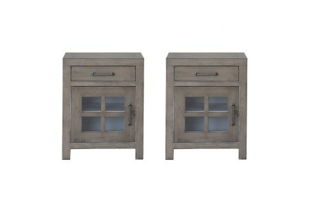 Gaines Bedside Table - Set of 2