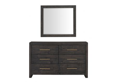 Portland Dresser and Mirror Package