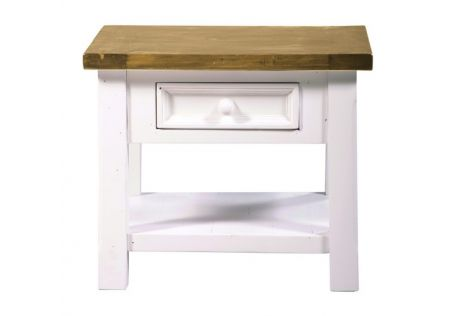 Tuscan 1 Drawer Lamp Table